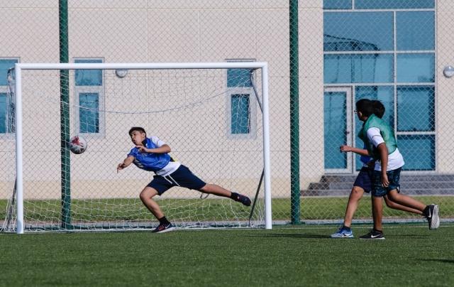 Ajman Academy Sport, football, ECA, PE, Physical education